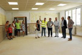 Renovación integral de la escuela de Mancor a la espera de construir el nuevo colegio
