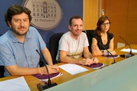 Podemos quiere que el alquiler en viviendas plurifamiliar esté prohibido en Palma e Ibiza antes de la publicación de la ley