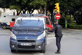 Detenido un hombre de 31 años tras dar una paliza a su mujer en Palma