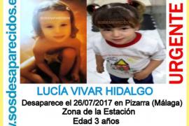 Encuentran muerta a Lucía, la niña desaparecida este miércoles por la noche tras cenar con su familia