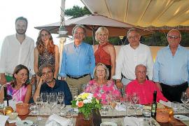 Cena veraniega de la Acadèmia de la Cuina i el Vi de Mallorca