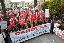 Trabajadores de Carcesa y Dhul, contra Nueva Rumasa