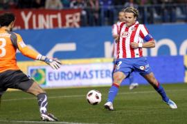 El Atlético suma una victoria incontestable