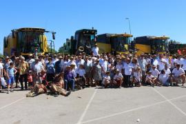 Más de 600 payeses participan en Es Cruce en la VI Jornada de Home i Natura