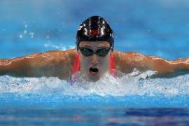Mireia Belmonte, campeona del mundo en los 200 metros mariposa