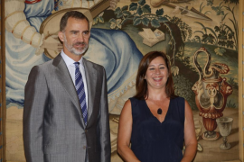 Armengol traslada al rey la necesidad de un nuevo régimen especial para Baleares