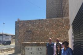 Acuerdo para restaurar el Molí d'en Gaspar de Llucmajor