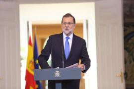 Rajoy: «La sociedad catalana necesita que se la proteja de un proyecto radical y divisivo»