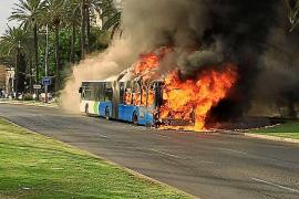 La EMT abre expediente sancionador a la empresa de mantenimiento por los incendios de autobuses