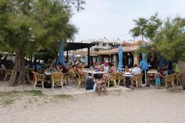 Restaurant Tamarells, comodidad a pie de playa