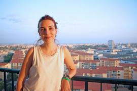 Margalida Followthelida, ganadora del Campeonato Nacional de Poetry Slam