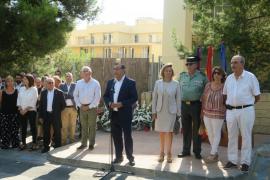 Calvià homenajea a Diego Salvá y Carlos Sáenz de Tejada en el 8º aniversario de su asesinato a manos de ETA
