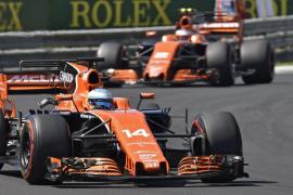 Alonso: «Nos llevamos el premio de unos buenos puntos»