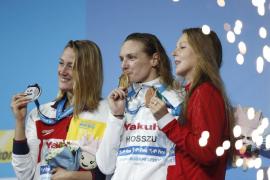 Belmonte logra la plata en los 400 estilos, su tercera medalla en Budapest