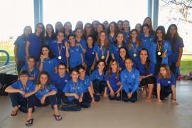 CampusEsport mantiene la sección de competición de natación sincronizada