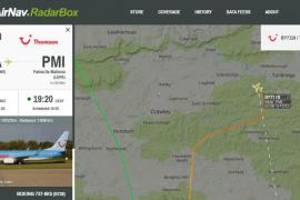 Una emergencia en una avión con destino Palma obliga a desviarlo a Gatwick