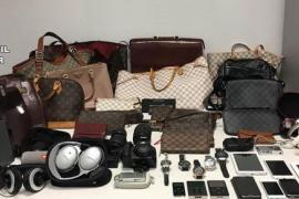 Detenido por el hurto de un bolso de mano con contenido valorado en 230.000 euros