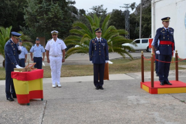 Juan Carlos Marcos, nuevo jefe de la base aérea del Puig Major
