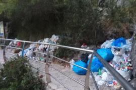 La 'guerra' de las basuras en Escorca, a punto de llegar a la vía judicial