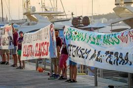 Arran defiende que su acción en Palma censura la precariedad que conlleva la masificación turística