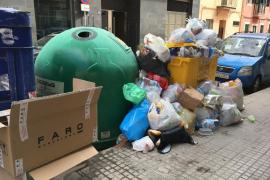Durán califica de «estado de emergencia» la suciedad de las calles de Palma