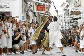 Batalla infernal entre moros y cristianos en Pollença
