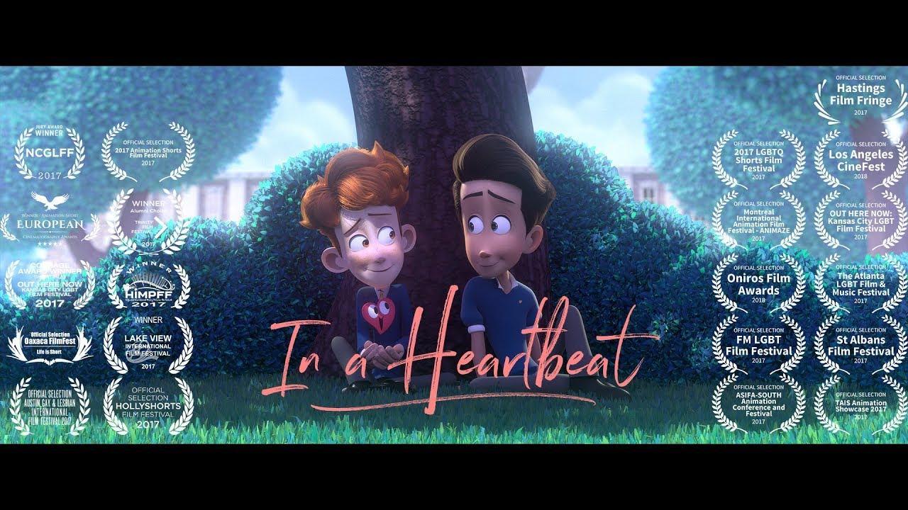 'In a heartbeat', el cortometraje sobre una historia de amor gay que arrasa en Youtube