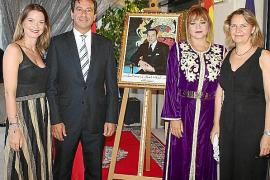 Fiesta en la residencia de la cónsul de Marruecos
