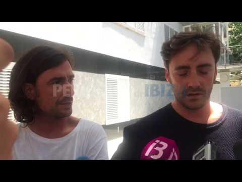 Los hijos de Ángel Nieto viajan de urgencia a Ibiza