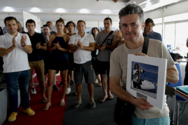 La Copa del Rey de vela rinde homenaje a la fotógrafa de Efe Montse Díez