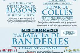 Canamunt y Canavall 'toman' Palma con cuatro días de actividades