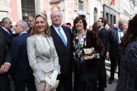 Boda en Madrid de Nicolás Cotoner Fuster y María Elia Gil de Santivañes