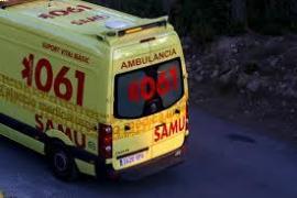 Atendido un hombre en Palma por intoxicación a causa de un incendio en la cocina de su casa