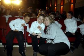 Emotivo concierto en el colegio La Salle para apoyar a Iván Pastor