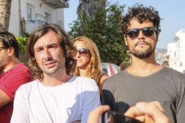 Velatorio de Ángel Nieto en Ibiza