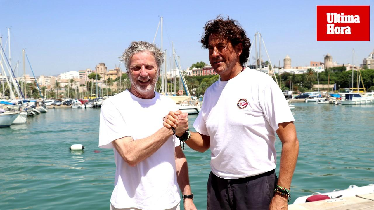Álvaro de Marichalar recala en Palma con el yate Yersin, que dará la vuelta al mundo en tres años para explorar los océanos