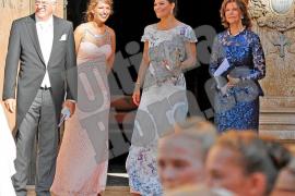 La realeza sueca, de boda en la Catedral de Mallorca