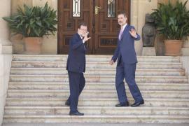 Rajoy: «Estoy muy bien, gracias»