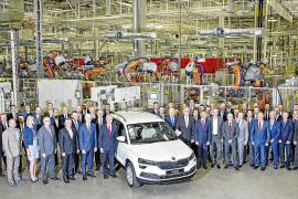 Skoda inicia la producción en serie del nuevo SUV Karoq