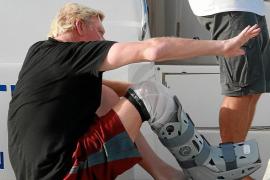 Boris Becker sigue su veraneo embarcado en Formentera en compañía de su familia