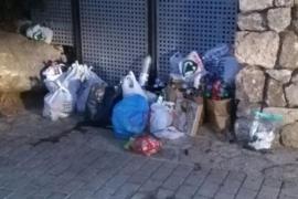 El alcalde de Escorca avisa que multará a los que lleven la basura del torrente a los contenedores