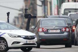 La Policía belga dispara e intercepta un vehículo cuyo conductor asegura tener explosivos en el coche