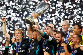 El Real Madrid conquista su cuarta Supercopa europea