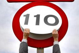 El Supremo rechaza suspender la bajada del límite de velocidad a 110 km/h