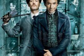 Cartel de la estadounidense adaptación de Sherlock Holmes.