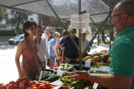 El Mercado payés del Coll de'n Rebassa se traslada a Cardenal Rossell