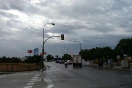 Las temperaturas, por debajo de lo normal y lluvias en Baleares