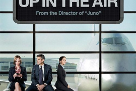 Up in the air con actores como George Clooney.