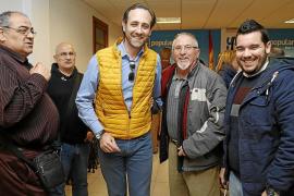 Bauzá deja la presidencia del PP-Marratxí y pierde el único reducto de poder que tenía