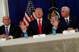 Trump: «Si Corea del Norte nos ataca ya pueden ponerse nerviosos, muy nerviosos»